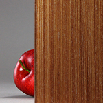 Mahogany - Wood Veneer Laminated Glass