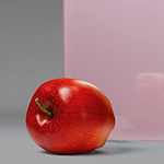 Luminous Pink Laminated Glass