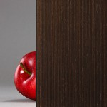 Wenge - Wood Veneer Laminated Glass